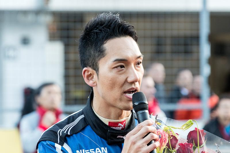 「本当にうれしい1年になりました」と藤井誠暢選手