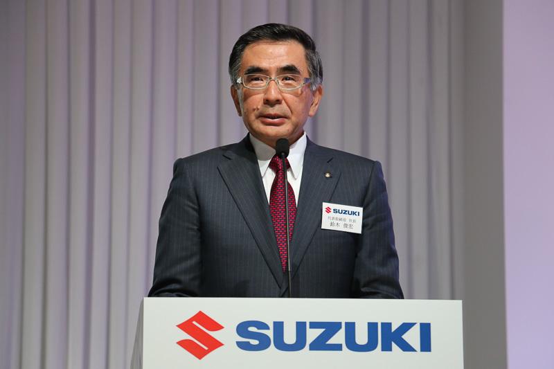スズキ株式会社 代表取締役社長(CEO兼COO)鈴木俊宏氏