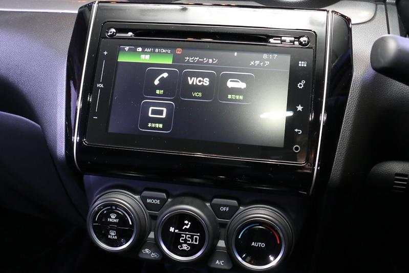 インターネットラジオの「Aha」のほか、Appleの「CarPlay」、Googleの「Android Auto」にも対応している