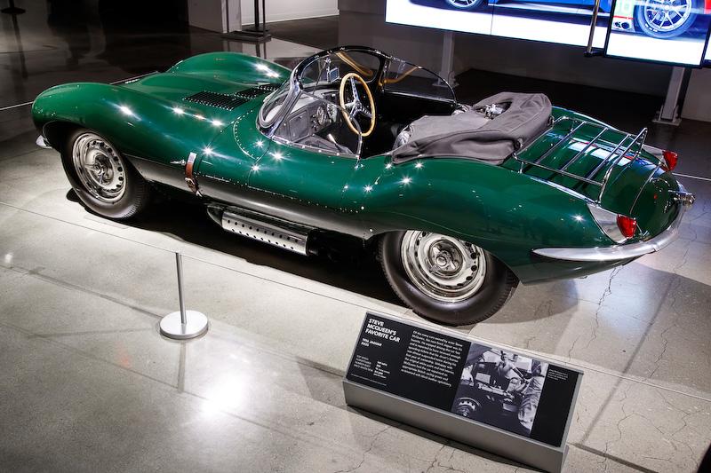 スティーブ・マックイーンが所有していた1956年式XKSS