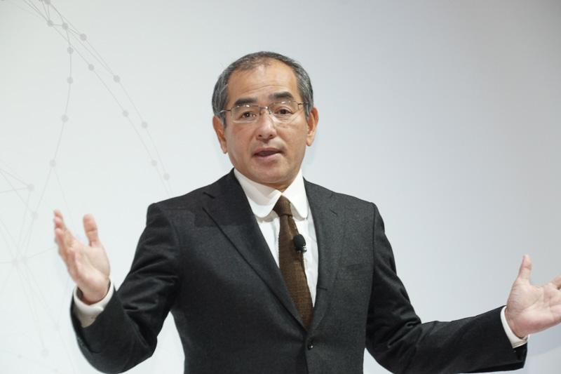 株式会社本田技術研究所 代表取締役社長 社長執行役員 松本宜之氏