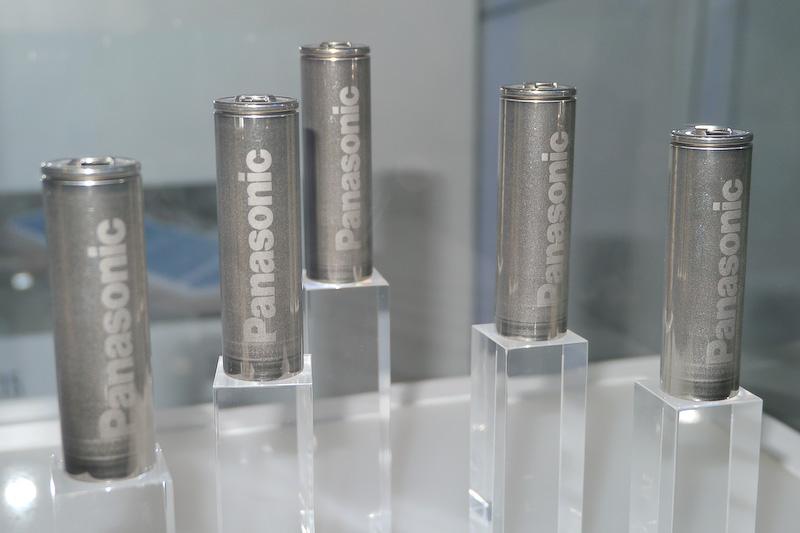 ギガファクトリーで生産される「2170」の電池