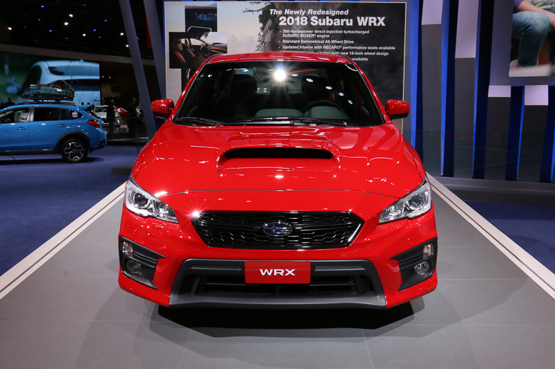 WRX 2018年モデル(北米仕様)