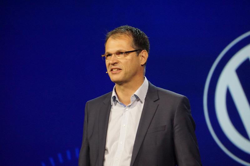 フォルクスワーゲン 電気・電子開発部門責任者 フォルクマル・タンネベルガー氏