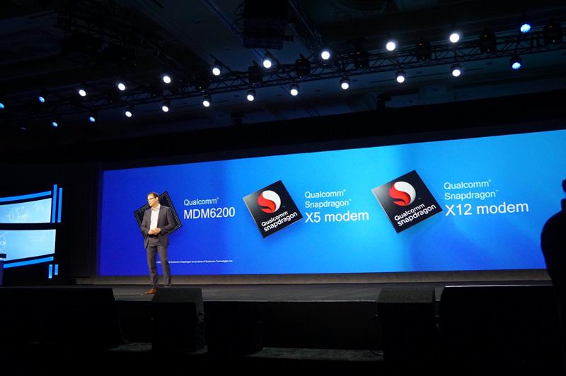 Snapdragon XブランドのLTE-A対応モデムをVWの車両に採用