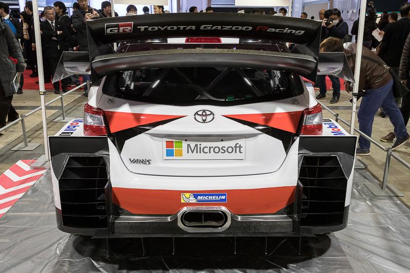 展示車両は開発車両で、実戦投入されるモデルとは細部が異なる