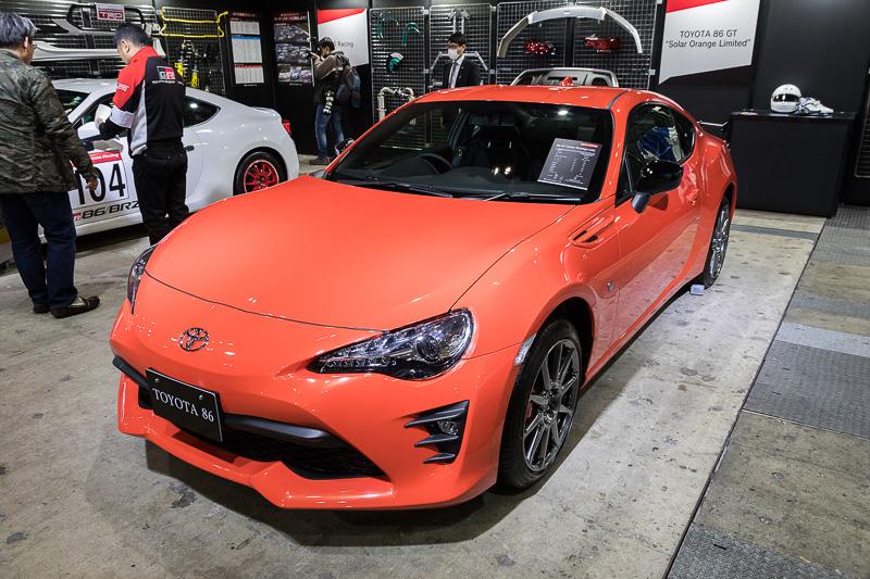 """特別設定色「ソーラーオレンジ」を採用した特別仕様車「TOYOTA 86 GT """"Solar Orange Limited""""」"""