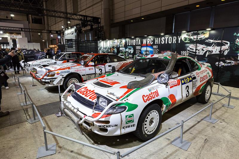 2017年からのWRC復帰にあわせラリーカーも展示された