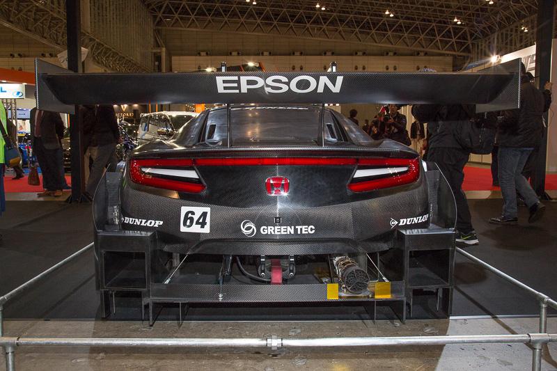 2017年モデルの「NSX-GT」。エプソン・ナカジマレーシングの64号車だ