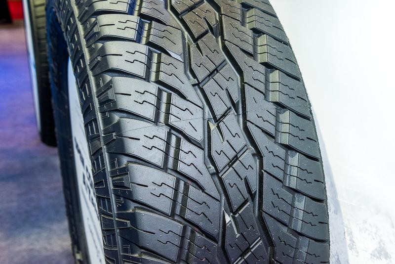 春ごろの発売を予定しているオールラウンドに使えるSUV専用タイヤ「OPEN COUNTRY A/T Plus」