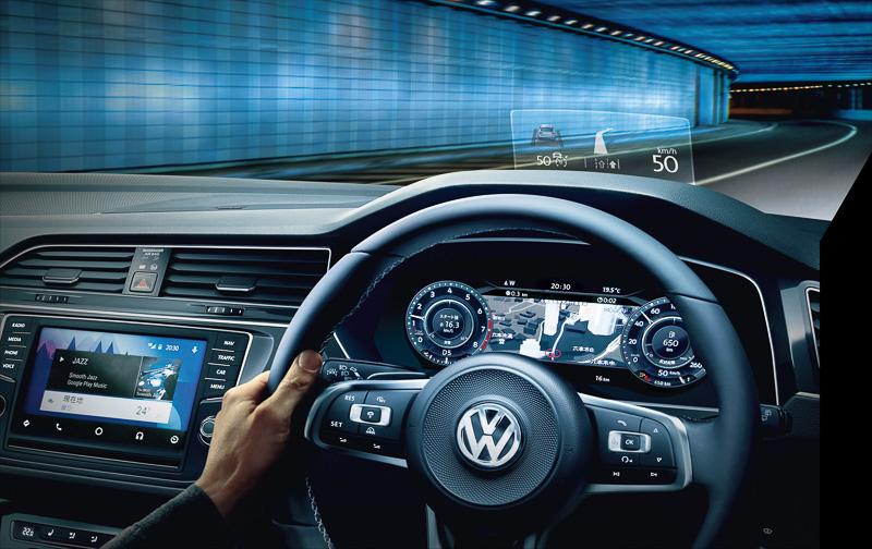 モバイルオンラインサービス「Volkswagen Car-Net」が利用できる純正インフォテイメントシステムを全車標準装備