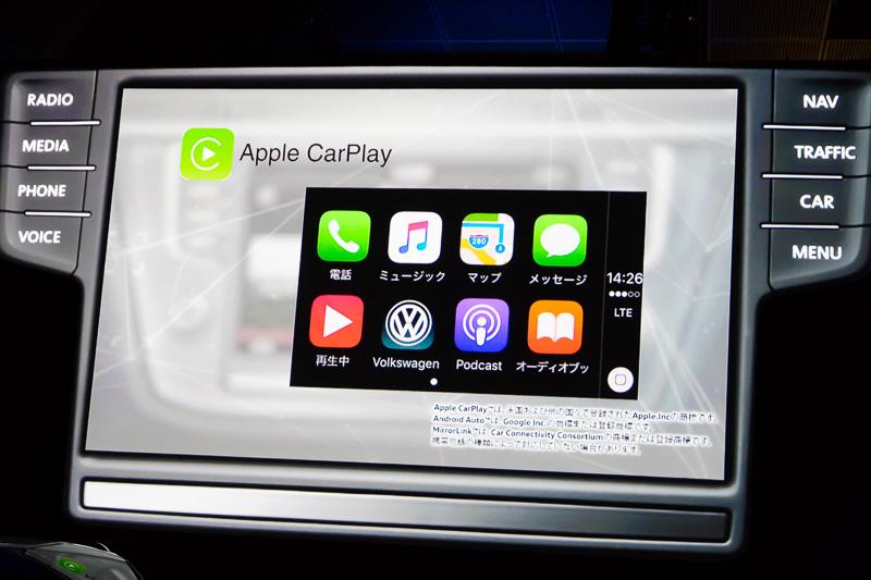 Apple Car Playに対応