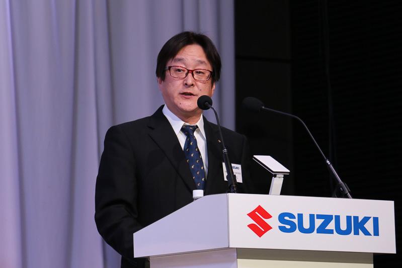 スズキ株式会社 四輪商品・原価企画本部長 加藤勝弘氏