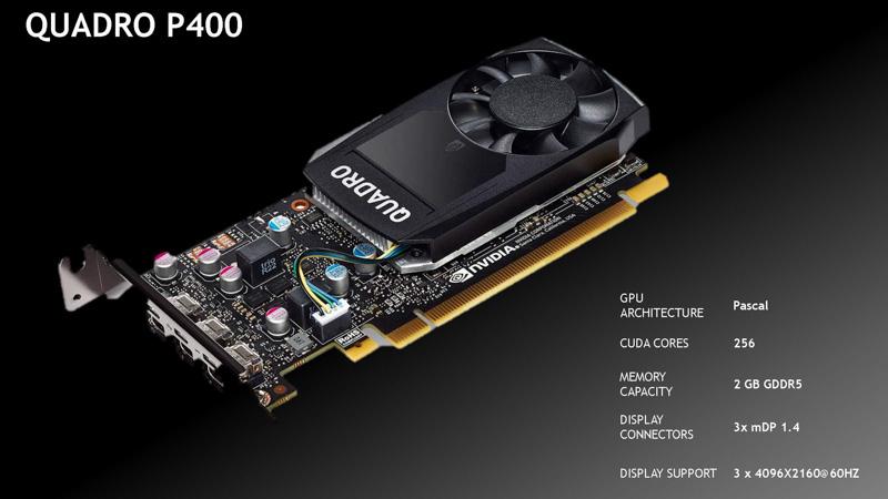 Quadro P400(出典:NVIDIA)