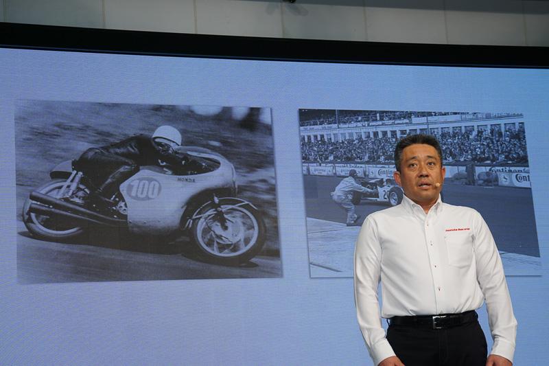 本田技研工業株式会社 モータースポーツ部 部長の山本雅史氏