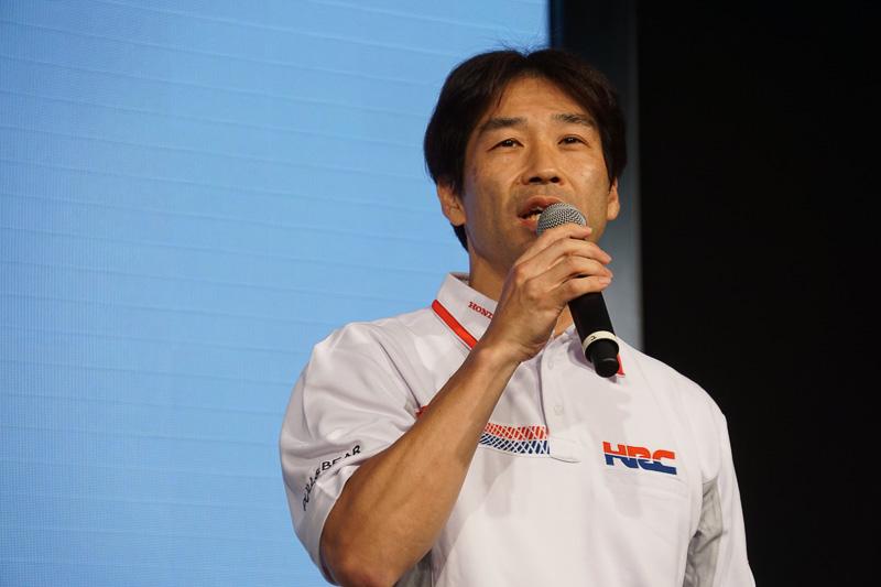 株式会社ホンダレーシング 取締役 レース運営室 室長の桒田哲宏氏