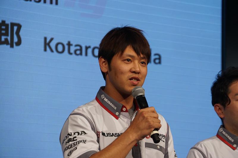 全日本ロードレース選手権に参戦する高橋巧選手(MuSASHi RT ハルク・プロ)