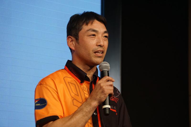 全日本ロードレース選手権に参戦する山口辰也選手(TOHO Racing)