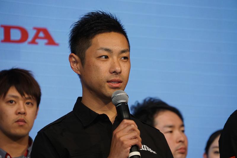全日本ロードレース選手権に参戦する高橋裕紀選手(MORIWAKI MOTUL RACING)