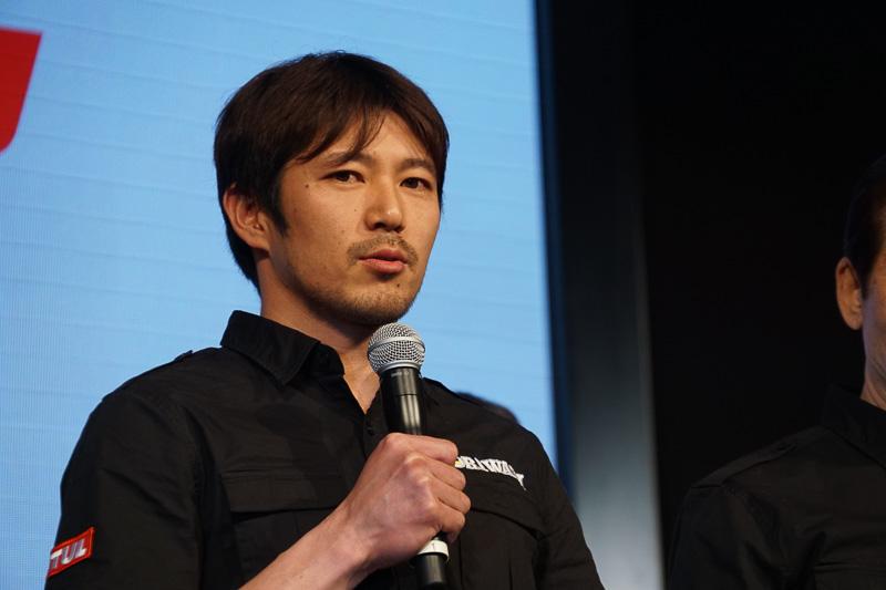 全日本ロードレース選手権に参戦する清成龍一選手(MORIWAKI MOTUL RACING)