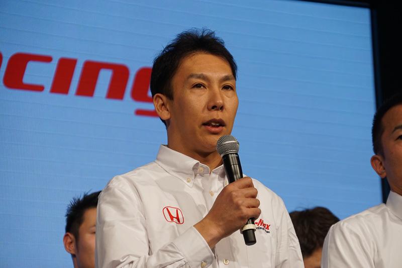 小暮卓史選手(B-Max Racing team)
