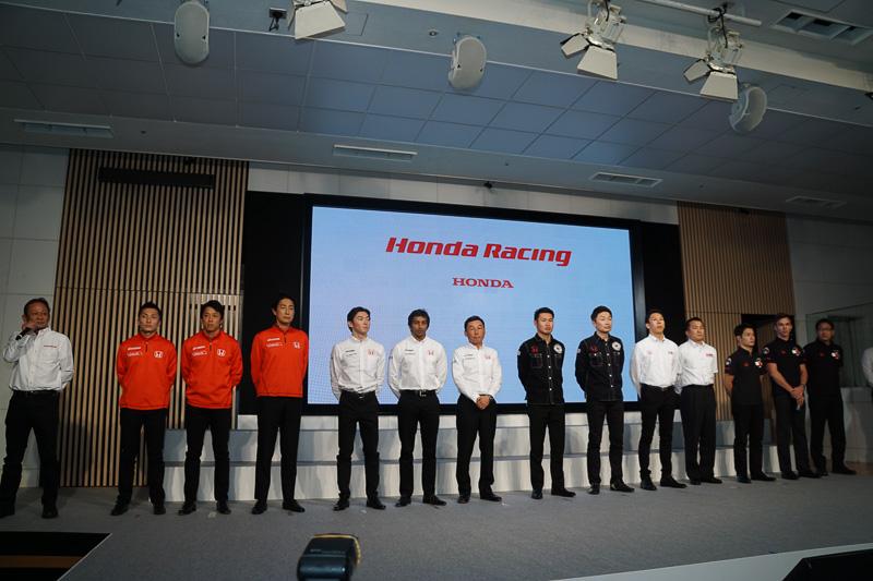 ホンダのスーパーフォーミュラ参戦ドライバーとチーム監督が登壇した