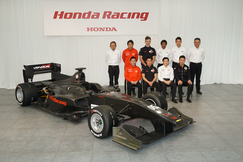 スーパーフォーミュラ参戦ドライバーらが登場した「2017年ホンダ国内モータースポーツ活動計画発表会」