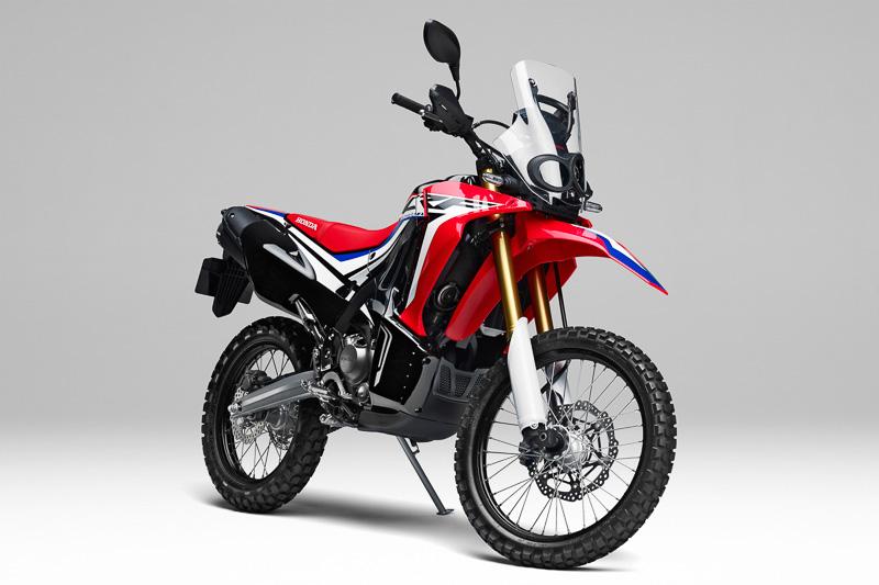 250ccクラスの新型アドベンチャーモデル「CRF250 RALLY」