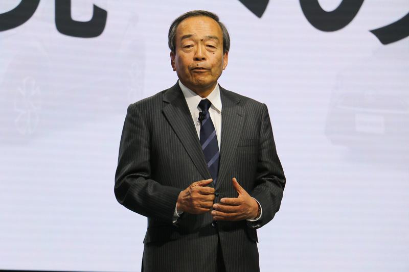 トヨタ自動車株式会社 取締役会長 内山田竹志氏