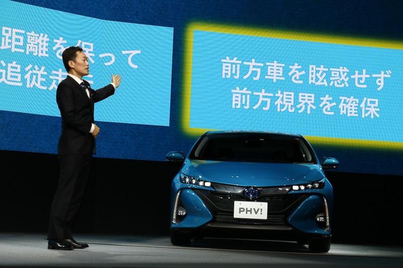 「Toyota Safety Sense P」には「アダプティブハイビームシステム(AHS)」をトヨタ車初採用。積極的にハイビームを使えるようになる