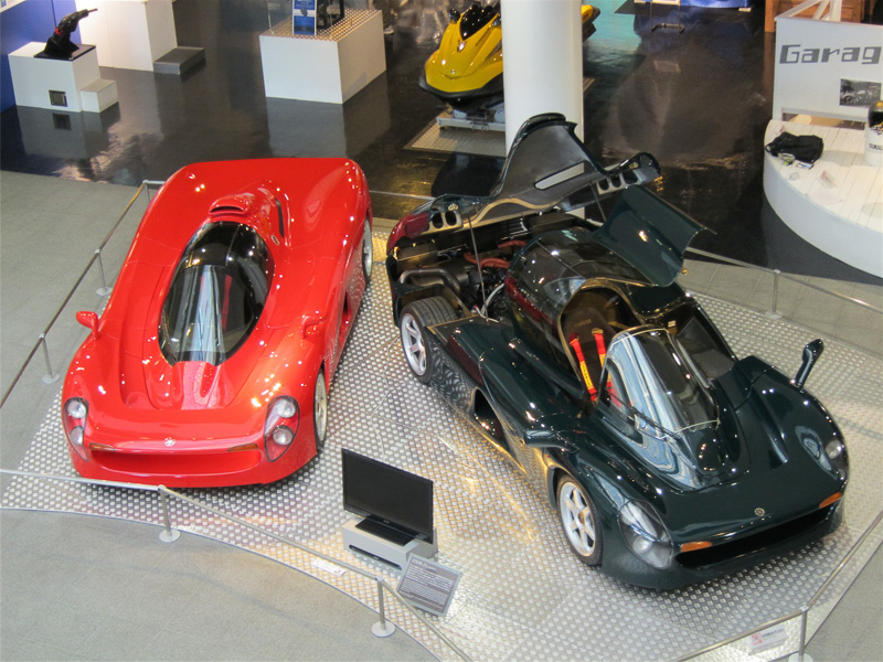 V型12気筒3.5リッターエンジンを搭載するスーパーカー「OX99-11」
