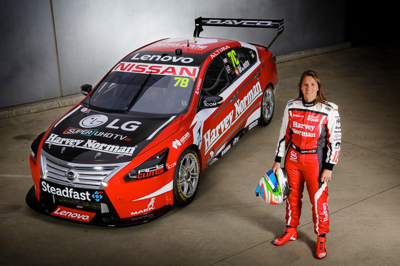 オーストラリアのスーパーカーズ選手権に、アルティマの78号車でシモーナ・デ・シルベストロ選手が参戦する