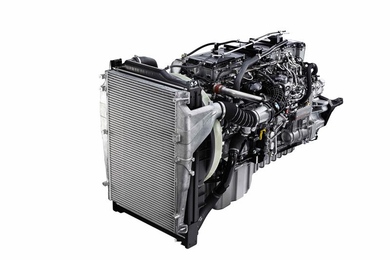 新開発の10.7リッター「6R20」型エンジン
