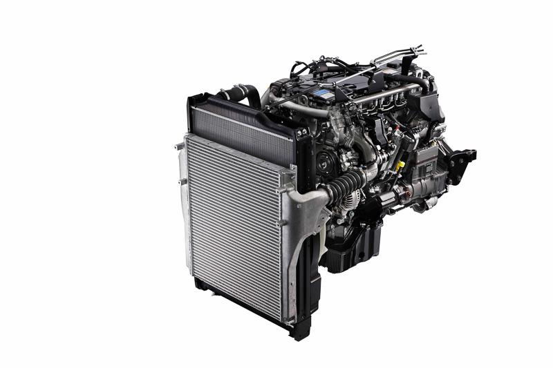 新開発の7.7リッター「6S10」型エンジン
