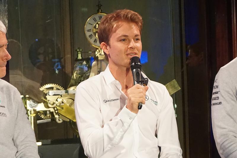 2016年F1ワールドチャンピオンのニコ・ロズベルグ氏