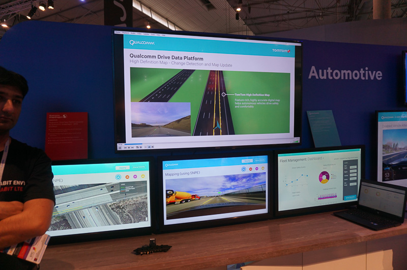 高精度マップの作成を自動で行なうQualcomm Drive PlatformをTOMTOMが採用