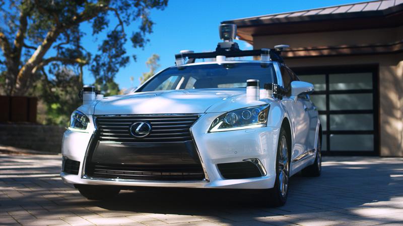 TRIが手がけたレクサス「LS600hL」をベースとする新たな自動運転実験車