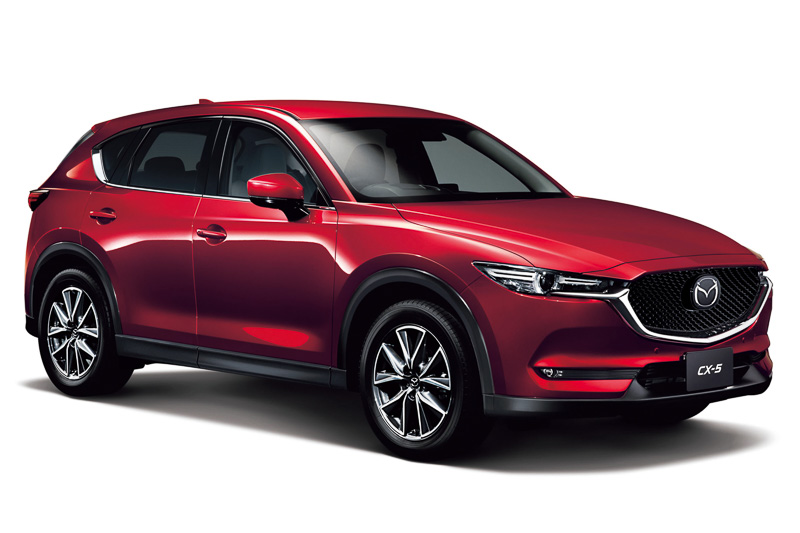 発売から約1カ月で1万6639台を受注した新型「CX-5」