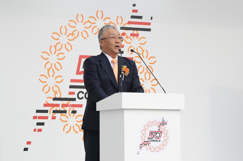 トヨタ自動車株式会社 常務役員 佐藤康彦氏