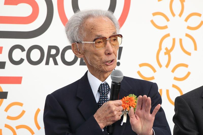 トヨタ自動車 顧問 2代目・3代目カローラ車両主査 佐々木紫郎氏