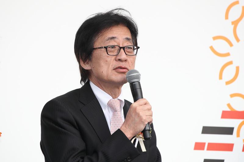 トヨタ自動車 専務役員 Mid-size Vehicle Company President 吉田守孝氏