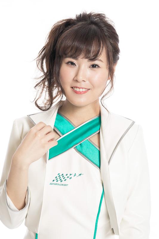 近藤美妃さん(愛知県出身)「幼い頃よりずっとF1を観てきたので、鈴鹿サーキットクイーンを務めさせていただける喜びと、鈴鹿サーキットをより良い施設にしていこうという、やる気でいっぱいです」