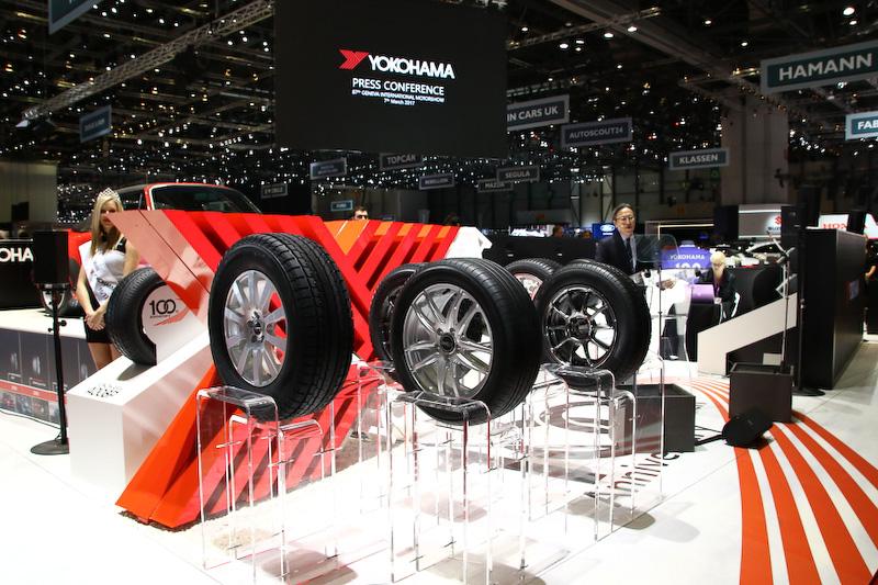 ジュネーブショーではYOKOHAMA A008Pを含めた6種類の新作モデルを発表