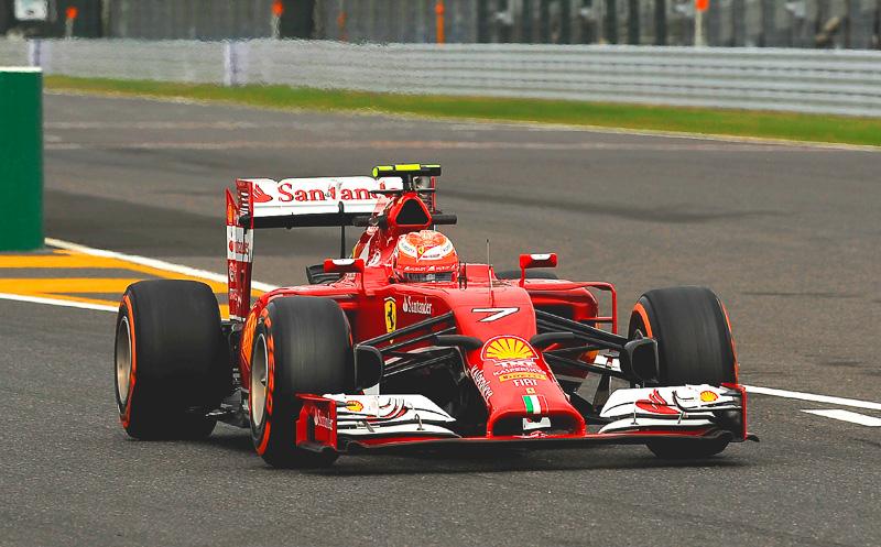 「Ferrari F14T」(2014年)