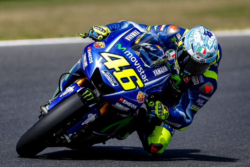 MotoGPマシン「YAMAHA YZR-M1」(2017年)