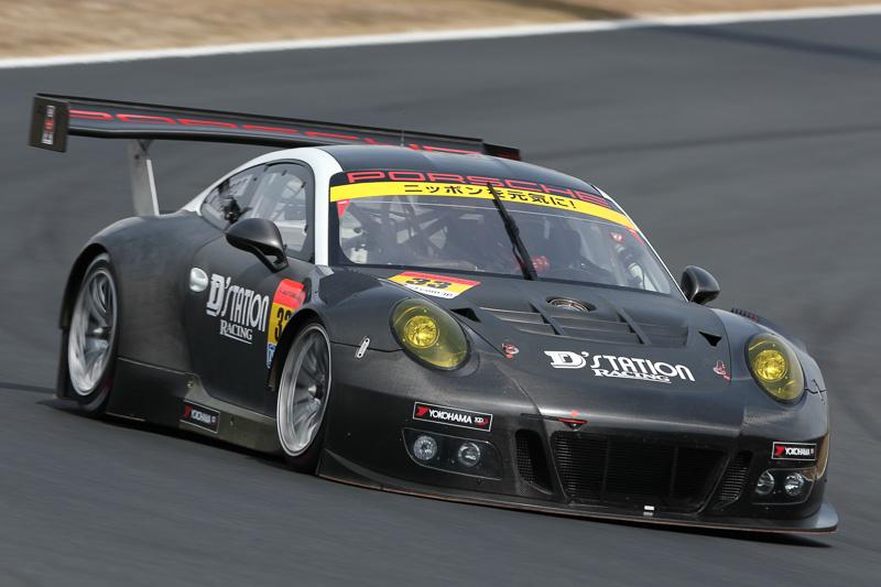 33号車 D'station Porsche 藤井誠暢/スヴェン・ミューラー