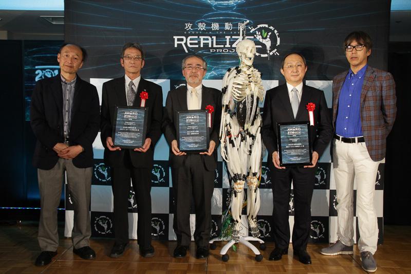 3月25日に「Anime Japan 2017」の会場で実施された「the AWARD 2016」表彰式