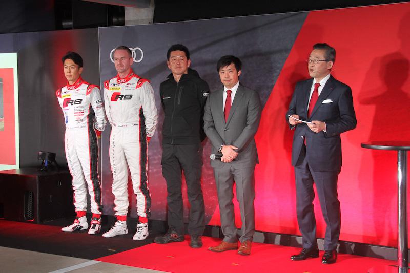 SUPER GT(GT300クラス)に出場するAudi Team Hitotsuyamaチーム