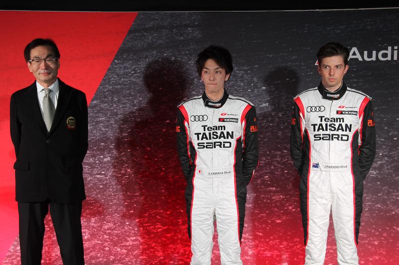 SUPER GT(GT300クラス)に出場するTeam TAISAN SARD