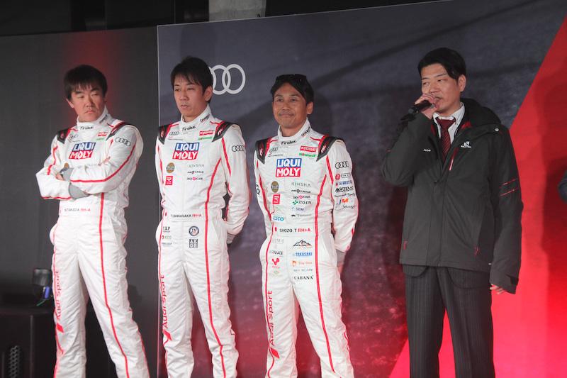 スーパー耐久シリーズ ST-Rクラスに出場する「Audi Team Dream Drive」チーム